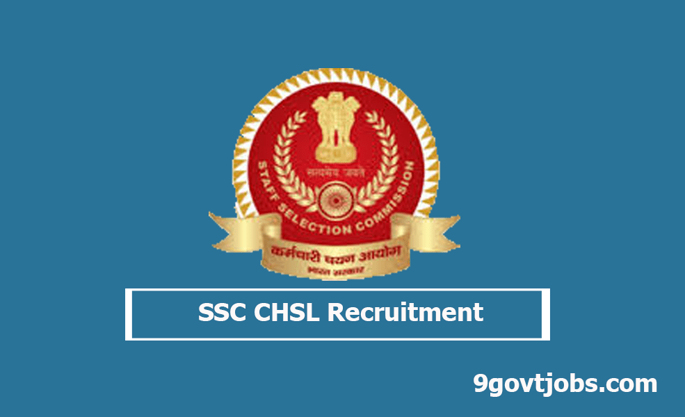 SSC CHSL Recruitment